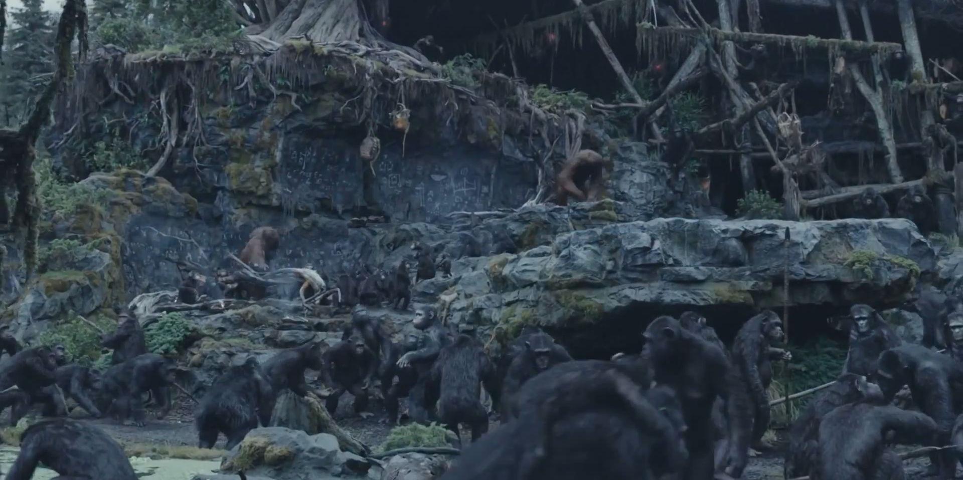 Смотреть фильм Планета обезьян Революция онлайн бесплатно