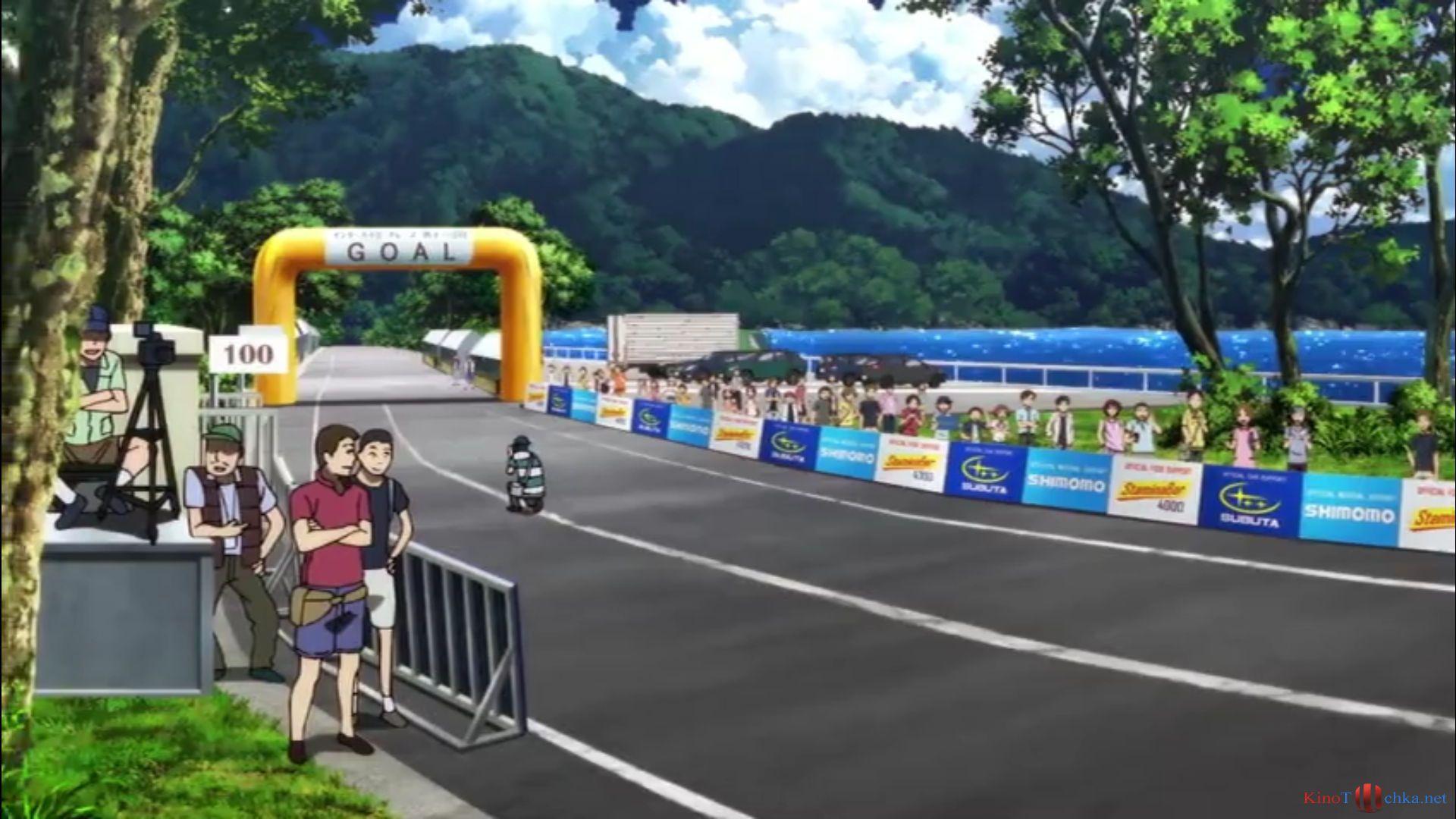 Смотреть аниме трусливый велосипедист 25 фотография