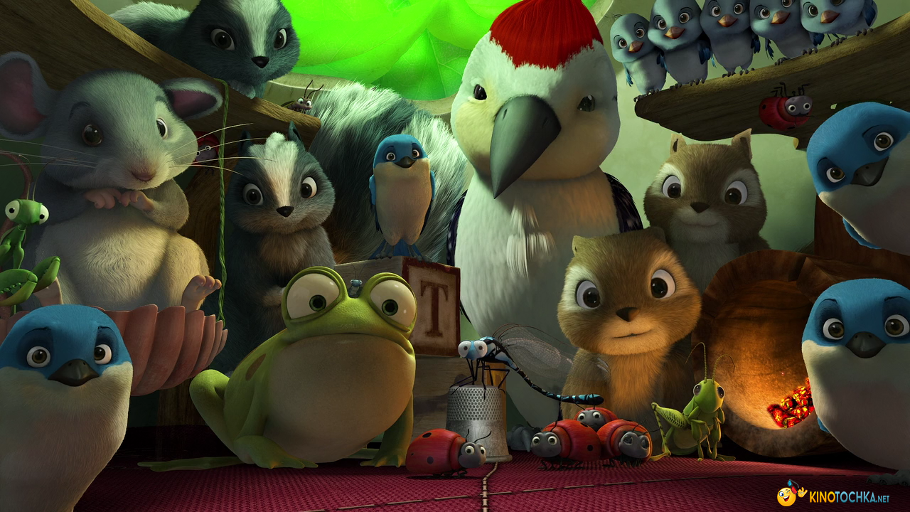 Кадры из фильма «Феи: Тайна Зимнего Леса» / 2012